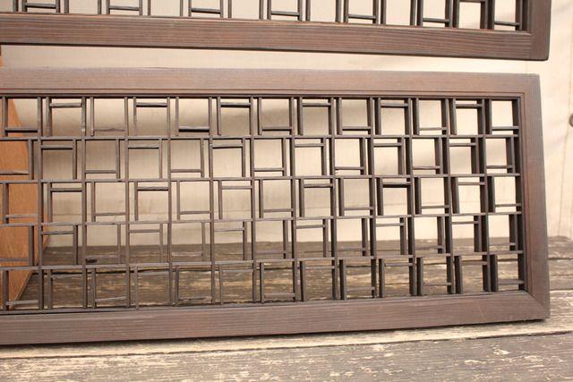 中型組子欄間M 3枚1組 R1549