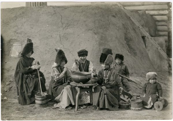 A family of Yakuts, circa 1900.