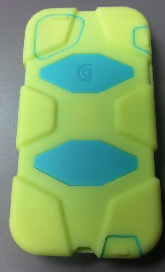 Griffin Case for iPhone 5/5s Yellow Teal Phone Case #Griffin