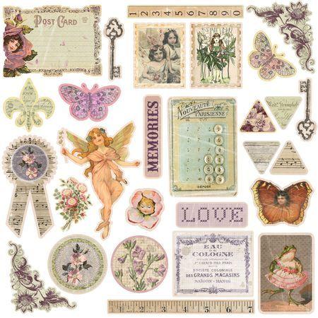Fairy Rhymes Chipboard-Prima-950521