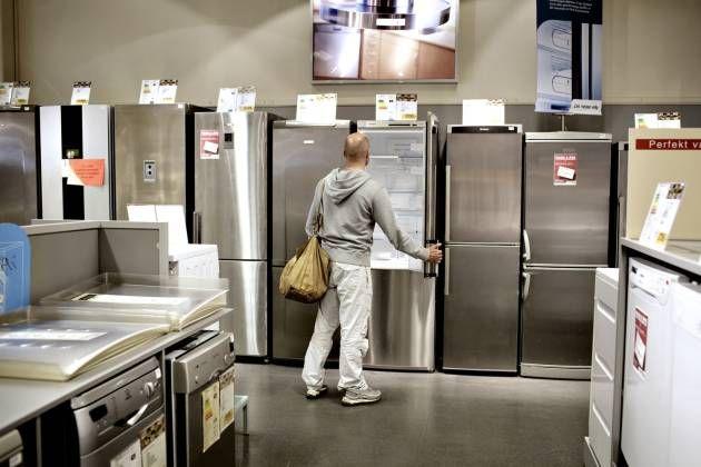 Køleskabe, fladskærme, lydsystemer, døre og vinduer er bare nogle af de dele af hjemmet, der skal være internet i. Samsung lover at være klar i 2020. - Foto: MIRIAM DALSGAARD