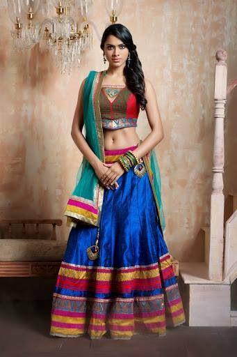 Colourful #lehenga #choli #indian #shaadi #bridal #fashion #style #desi #designer #blouse #wedding #gorgeous #beautiful