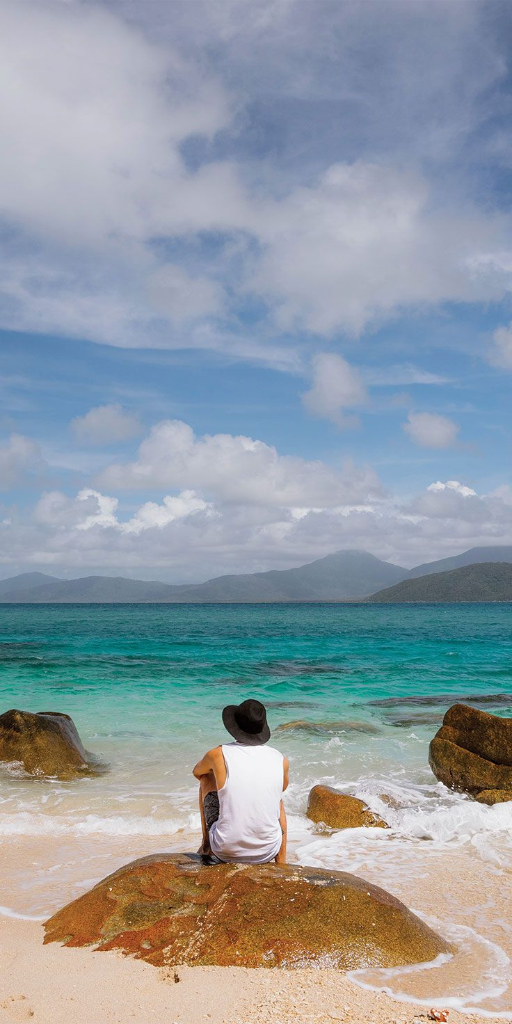 The perfect spot on Fitzroy Island - by Jason Charles Hill