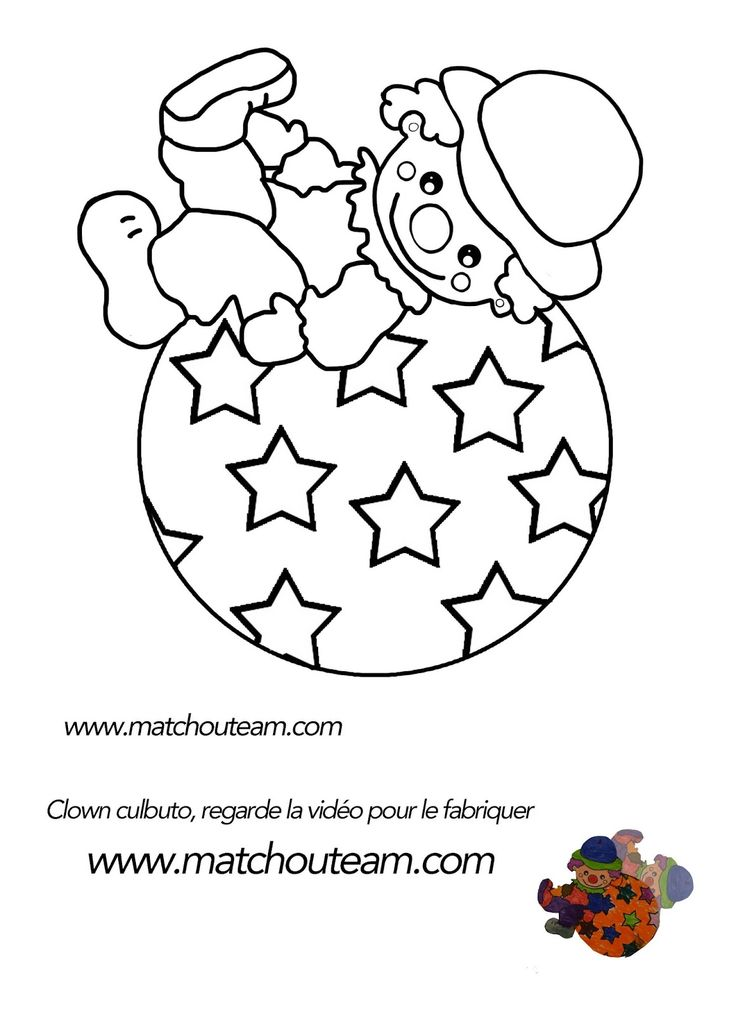 Clown+culbuto+MS+coloriage.jpg (1159×1600)