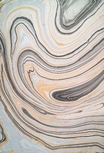 how to get the marbled effect black and silver