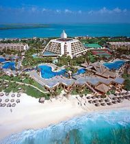 Grand Oasis Cancun aerial view #ocean #resort #vacation