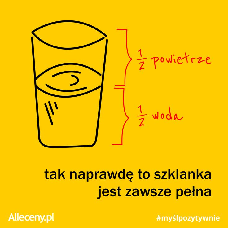 Myśl pozytywnie! #dzienpozytywegomyslenia