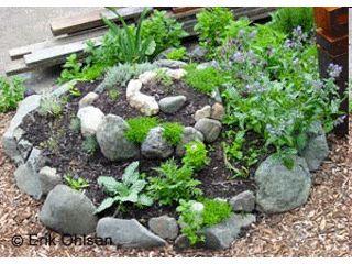Huerto en Espiral Como hacer un huerto de plantas aromáticas y medicinales
