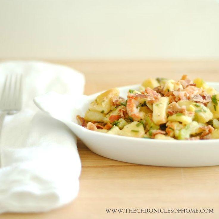 Crispy Lobster Potato Salad