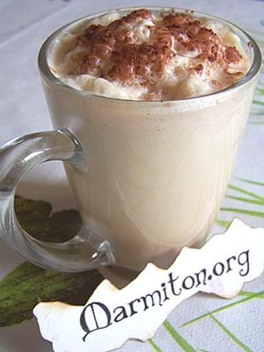 café latte frappé!