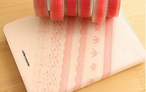 niceEshop(TM) DIY Multifonctionnel Scrapbooking Papier Adhésif Décoratif: Matériel: papier; Taille: 6.5x10cm Idéal pour DIY Parfait pour un…