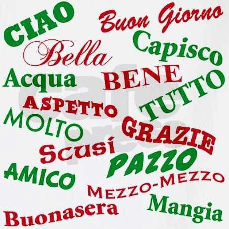 Some Simple Italian Words