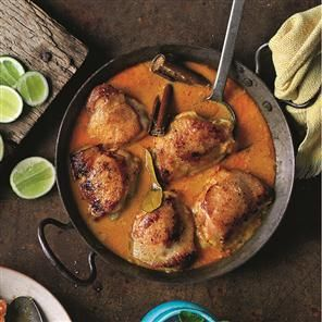 Malaysian-style chicken recipe. This easy Malaysian-style chicken recipe is perfect with white fluffy rice. Serves 4.