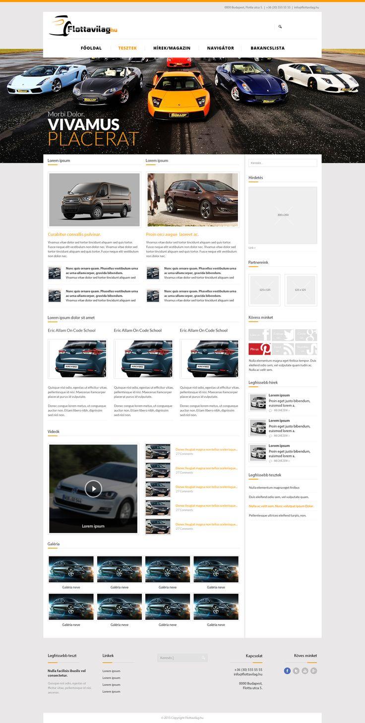 Egy újabb webdesign a műhelyünkből ;)