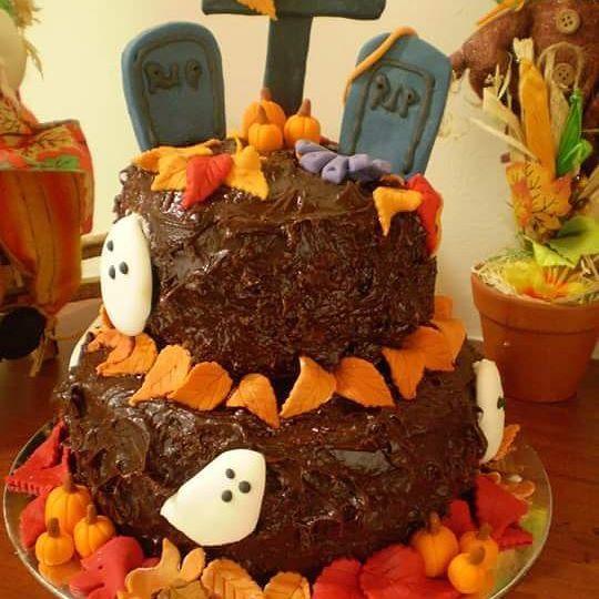 Torta de Halloween