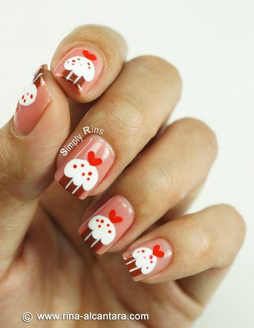 440 best Valentine\'s Day nail Art images on Pinterest | Valentine ...
