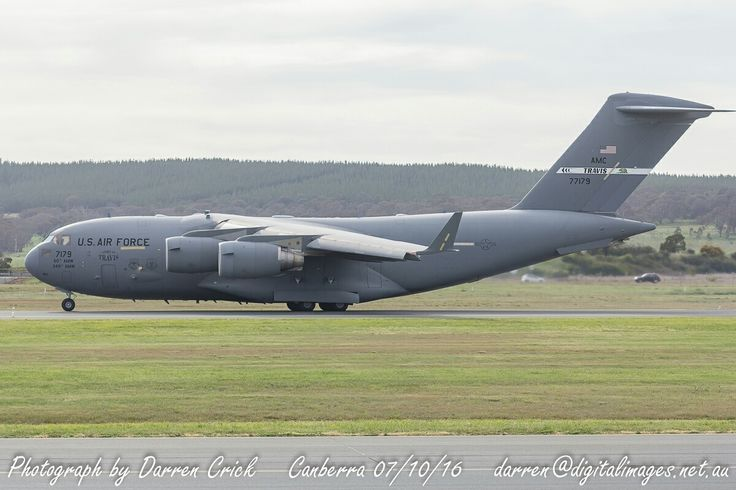 C-17 07-7179 of the #USAF departing #Canberra Airport 07/10/16 after a short visit. #avgeek #aviation #photography #canon #cbr U.S. Air Force