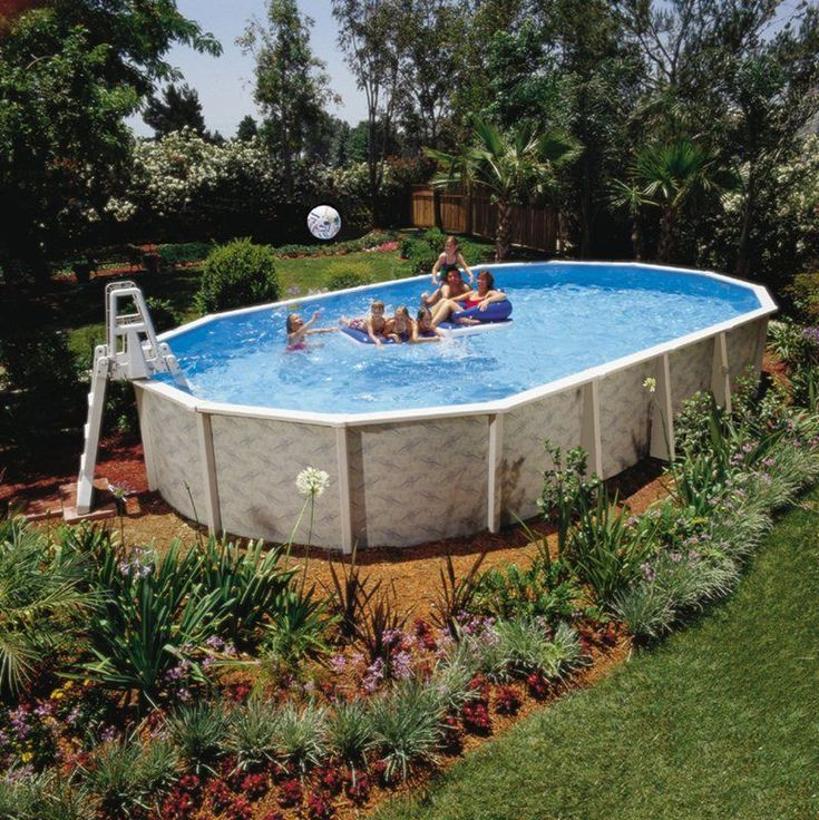 Best 25 best above ground pool ideas on pinterest deck Above ground pool installation ideas