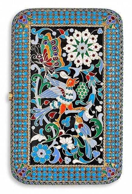 Russian Cloisonne Faberge Art /Russian Art : More At FOSTERGINGER @ Pinterest