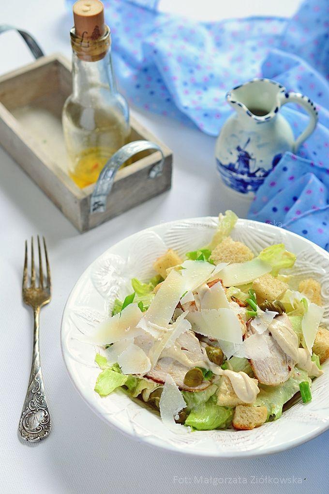 Smaki Alzacji : Sałatka cezar