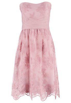 Sukienka koktajlowa - peach blossom