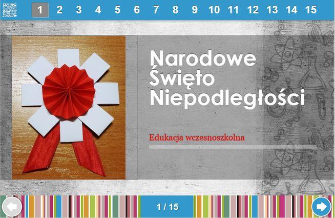http://klikankowo.jimdo.com/gry-dla-uczniów/11-polska/symbole-narodowe-święto-niepodległości/