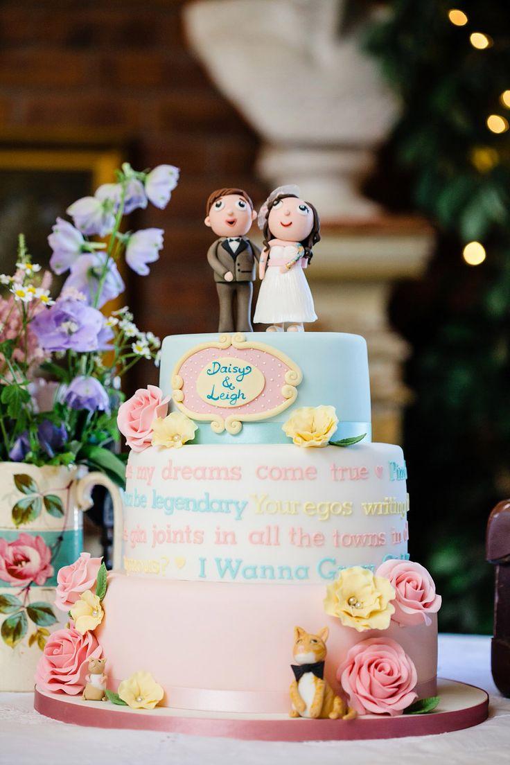 Retro Cartoon Wedding: Daisy  Leigh