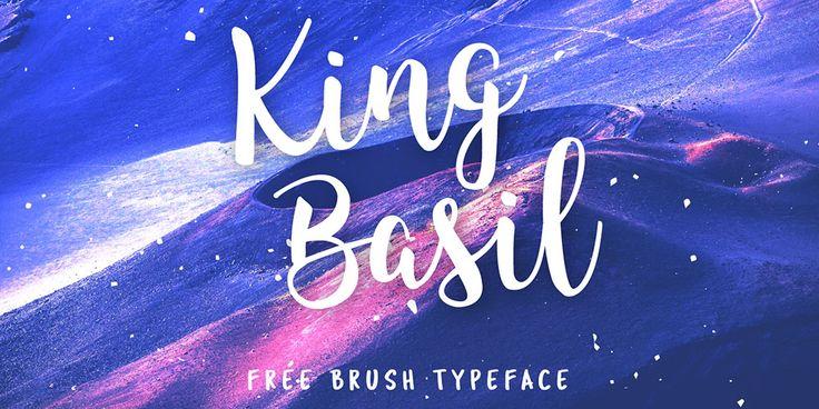 King Basil Free Font