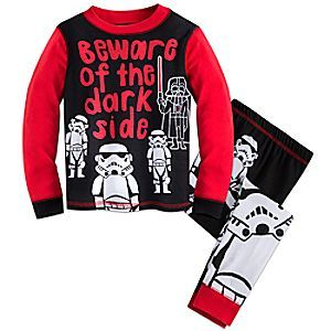 Star Wars PJ PALS for Boys | Disney Store Your galactic warrior will rest alongside the Empire in these <i>Star Wars</i> PJ PALS. Featuring Darth Vader and Stormtroopers, these all-cotton pajamas will make the dark side a comfy fit.