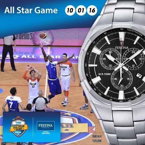 Festina è sponsor ufficiale del Beko All Star Game 2016! Un appuntamento imperdibile per chiunque ami la pallacanestro. Buon basket a tutti!