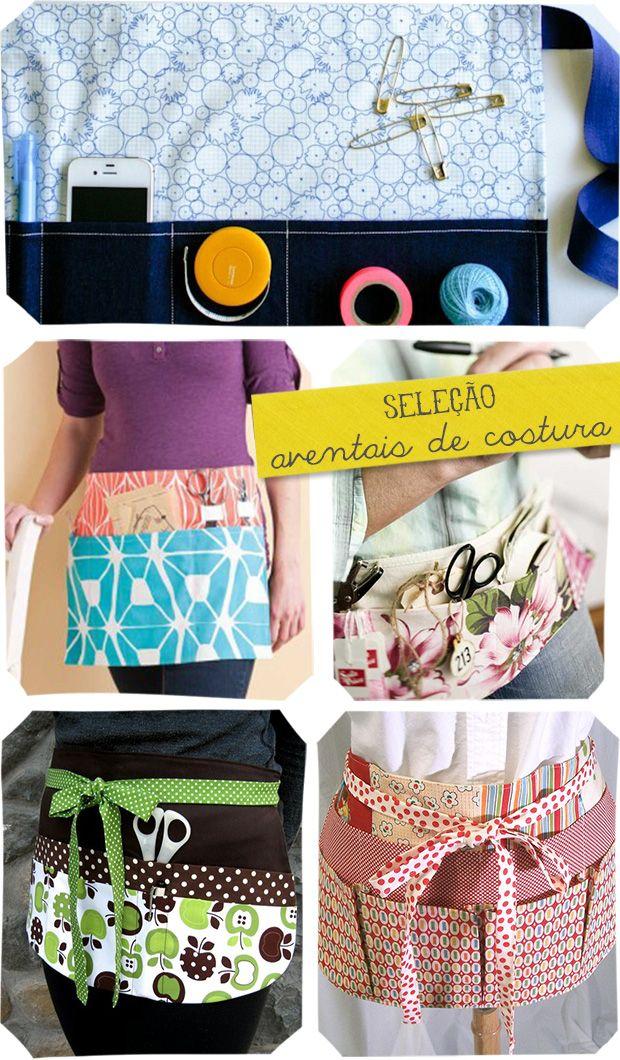 Seleção de Aventais de Costura
