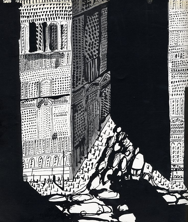 Aldo Rossi. Casabella 258 1961: 23 | RNDRD