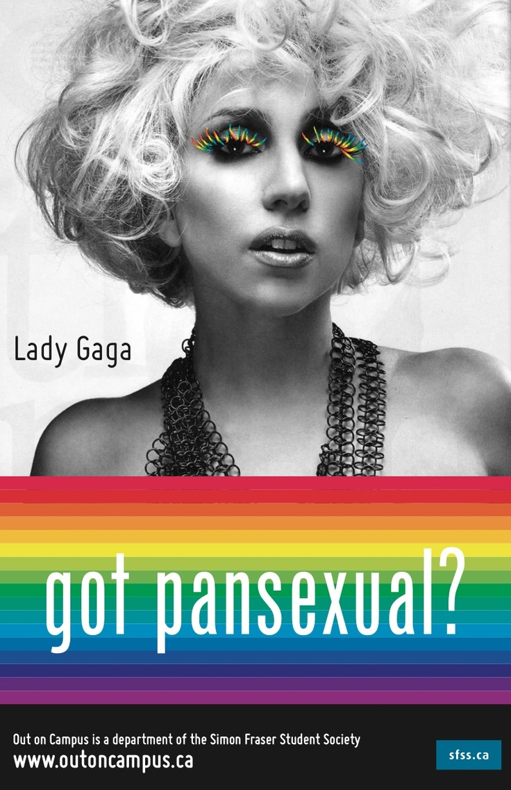 Gaga and pansexual, all in one pin!