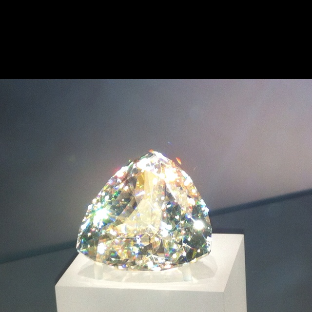 Giant diamond at the ROM