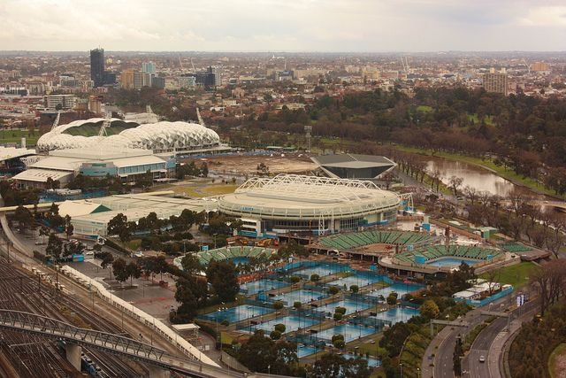 Melbourne Tennis Centre | Flickr - Photo Sharing!
