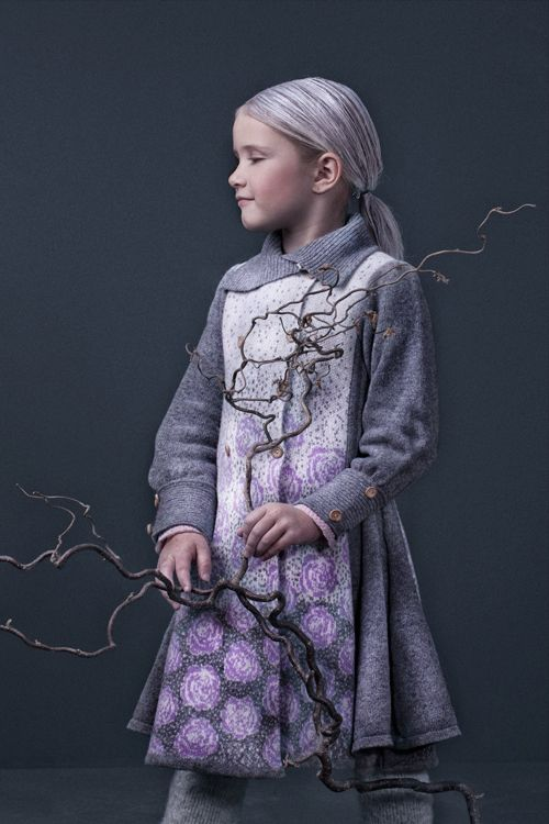 Winterrose coat AW15 by MOLE - Little Norway - supersoft and light wool for the little lady!! <3 www.mole.no