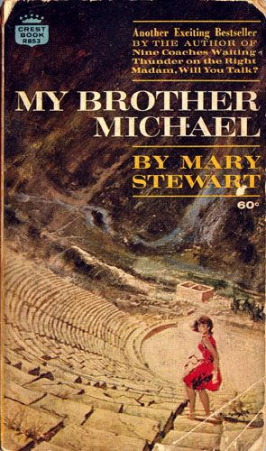Quote: I could read Mary Stewart all day. Suspense, romance and mystery all set in exotic locations.