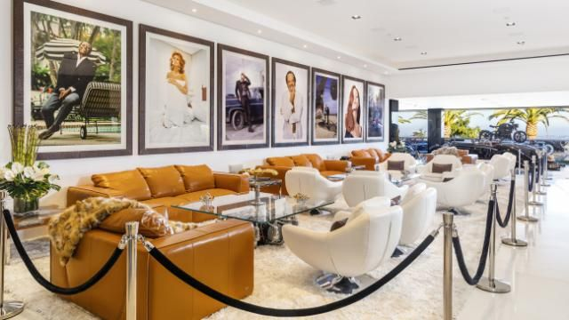 America's most expensive home hits the market At 38,000 square feet, the house spans four levels and has 12 bedrooms, 21 baths, and a $200,000 candy wall.James Bond-themed movie theater »