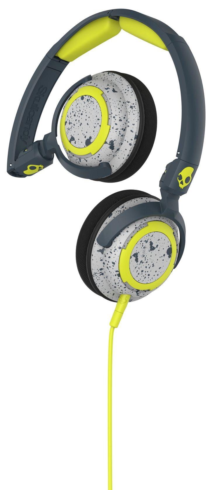 Skullcandy Lowrider Dark Gray/Light Gray On Ear Headphones