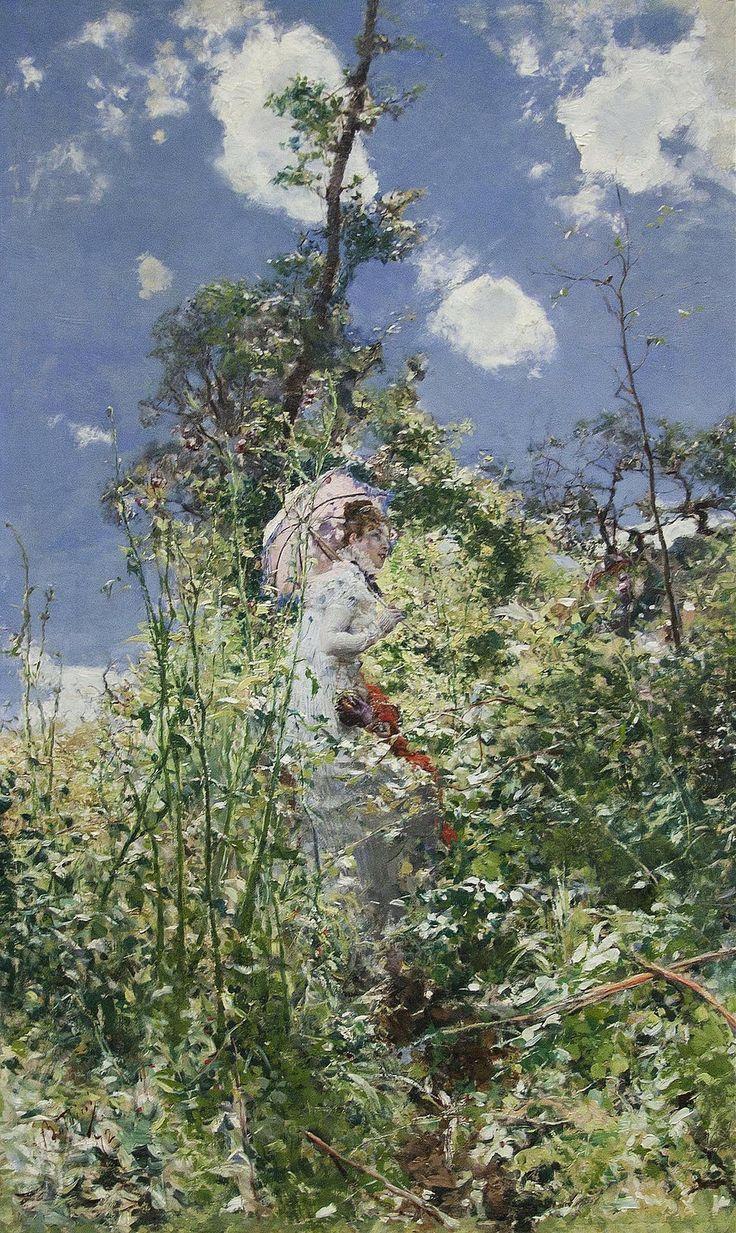 Γυναίκα με ομπρέλα (1872)