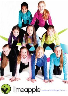 Bubble Minky Hoodies for active girls by Limeapple the #1 Tween bran