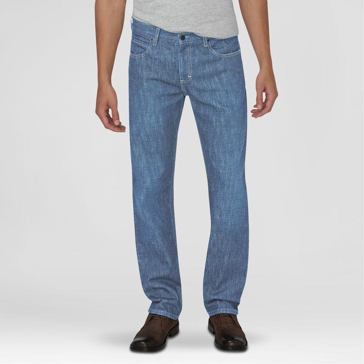 Dickies Men's Regular Fit Straight Leg 5-Pocket Jean Light Indigo 42X30, Light Denim