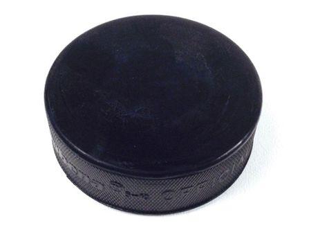 Eishockey Puck Hejduk als Fixiergewicht