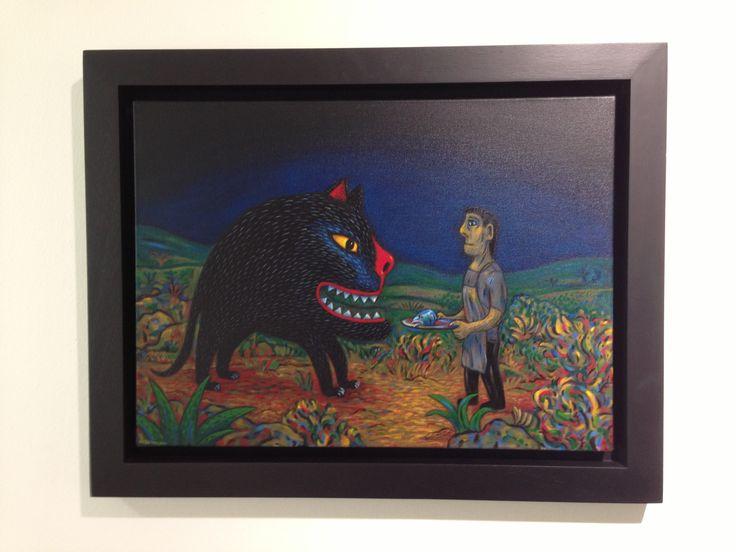 One of my favourites: Norman Catherine's - Feeding my Monster. http://circaonjellicoe.co.za/?m=4&idkey=695 http://www.normancatherine.co.za