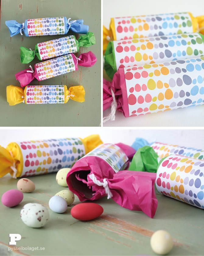 Easter Crackers by Pysselbolaget