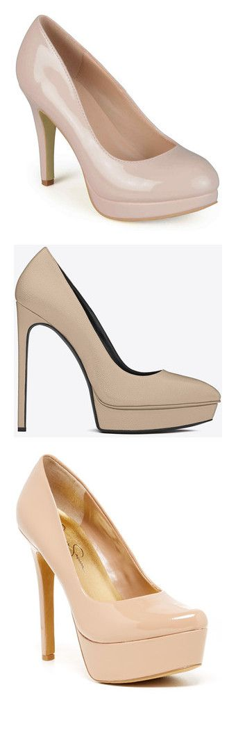 """""""Nude heels! Yasss b*tch!"""" by sweetcamerabliss ❤ liked on Polyvore featuring shoes, pumps, heels, platform stilettos, platform stiletto pumps, high heel platform pumps, patent platform pumps, round toe platform pumps, ysl and square-toe pumps"""