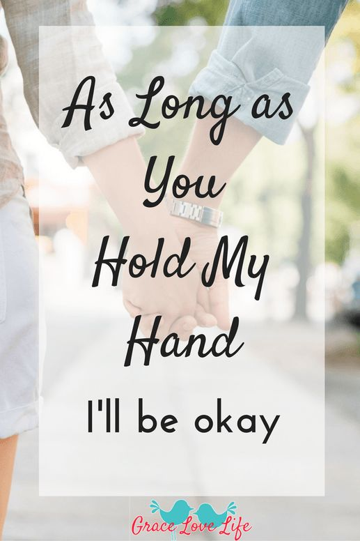 This letter is for my husband, who always makes sure I am ok.