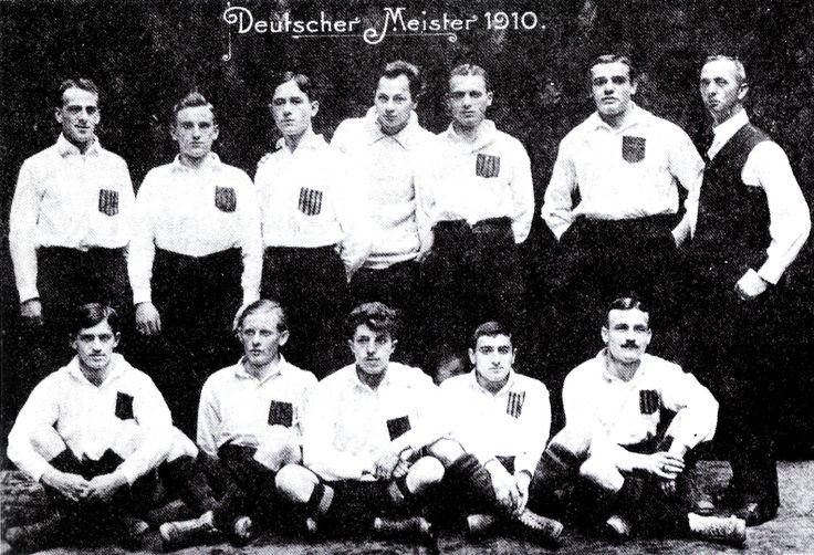 Deutscher fußballmeister 1910: Karlsruher FV