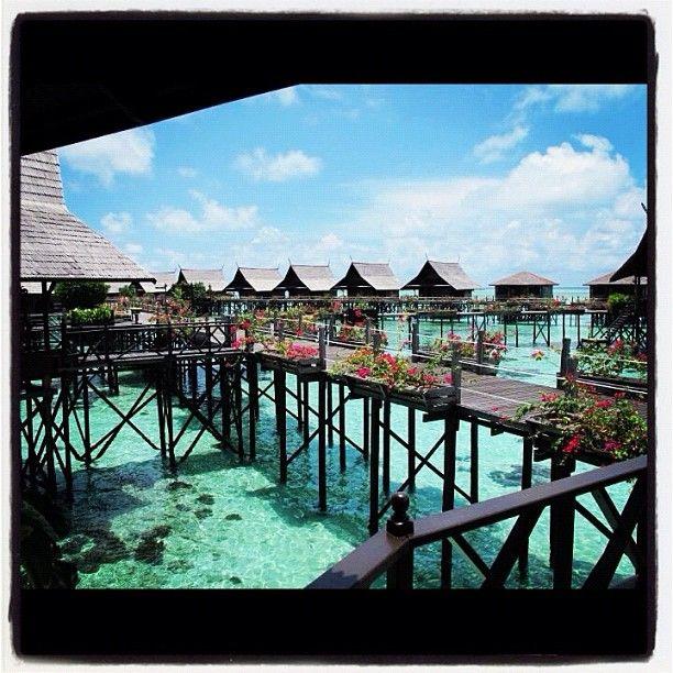 Kapalai Resort - Sipadan #scuba #divingtheworld #ilovediving #sea #blue #nature  #trip #sipadan