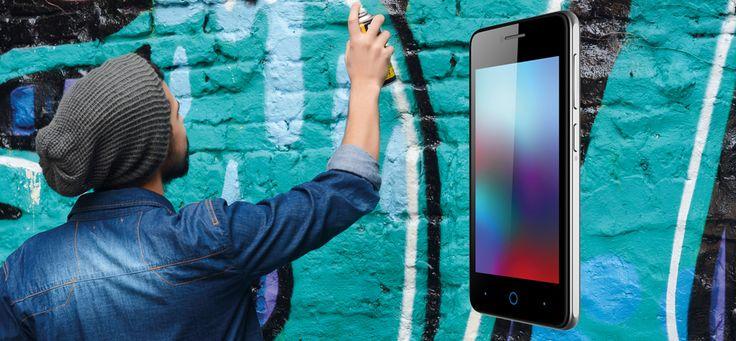 #ZTE #Blade #C341 #Google #Android #Smartphone #DualSIM #MicroSD bis zu 32 GB #QuadCore #Prozessor #5Megapixel #Hauptkamera #2Megapixel #Frontkamera #4Zoll #Display #GPS #FOTA #Bluetooth #WIFI #WLAN #googleandroid #phone #mobile #BreakingTheRules #graffiti #tag #spray #urban #style